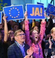 Liberalernas valvaka.  Fredrik Sandberg/TT / TT NYHETSBYRÅN