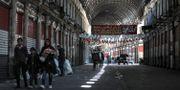 Stängda butiker i Damaskus. LOUAI BESHARA / TT NYHETSBYRÅN