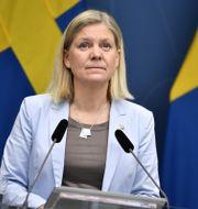 Finansminister Magdalena Andersson (S). Pontus Lundahl/TT / TT NYHETSBYRÅN