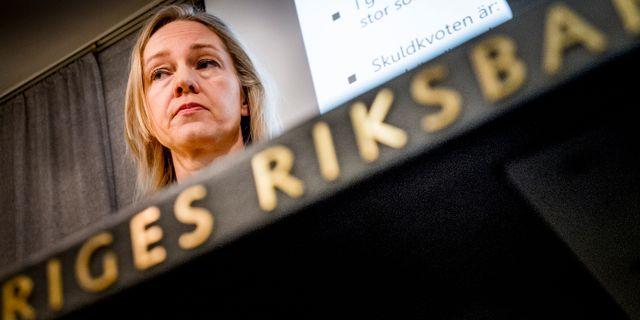 Cecilia Skingsley, arkivbild. Magnus Hjalmarson Neideman / SvD / TT / TT NYHETSBYRÅN