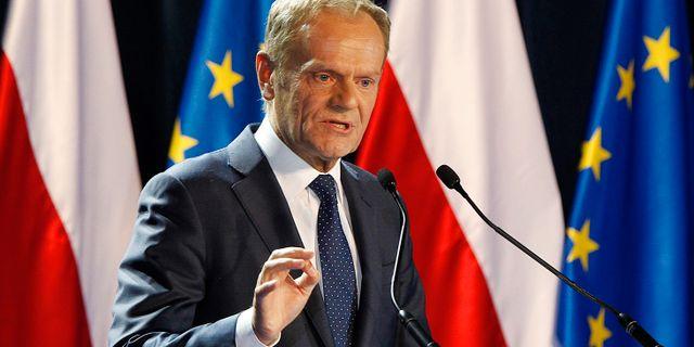 Europeiska rådets ordförande Donald Tusk. Czarek Sokolowski / TT NYHETSBYRÅN
