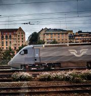 Arkivbild på ett SJ-tåg. Tor Johnsson / SvD / TT / TT NYHETSBYRÅN