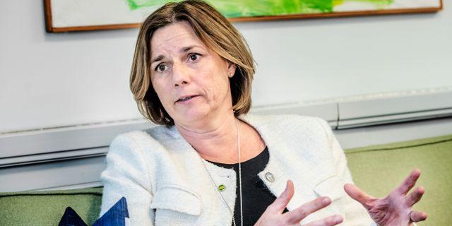 Isabella Lövin.  Tomas Oneborg/SvD/TT / TT NYHETSBYRÅN