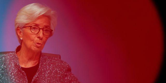 Arkivbild: ECB-chefen Christine Lagarde.  KAI PFAFFENBACH / TT NYHETSBYRÅN