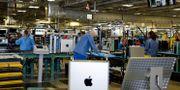 Arkivbild: Apples fabrik i Austin, Texas Evan Vucci / TT NYHETSBYRÅN
