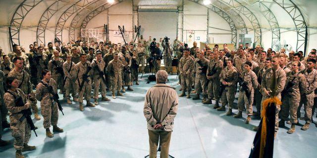 Amerikanska soldater i Afghanistan. Arkivbild. Mark Wilson / TT NYHETSBYRÅN
