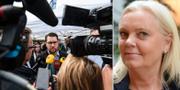Jimmie Åkesson och Kristina Winberg. TT