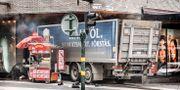 Lastbilen på Drottninggatan. Tomas Oneborg/SvD/TT / TT NYHETSBYRÅN