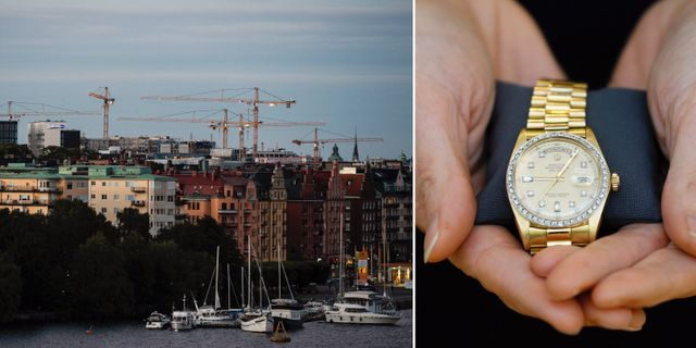 Kungsholmen/Rolex. Illustrationsbilder. TT