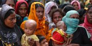 Rohingyer i ett bangladeshiskt flyktingläger. Arkivbild. Zakir Hossain Chowdhury / TT / NTB Scanpix