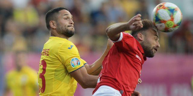 Rumänien mötte Malta den 8 september. INQUAM PHOTOS / TT NYHETSBYRÅN