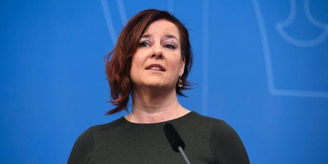 Anna Carlstedt. Fredrik Sandberg/TT / TT NYHETSBYRÅN
