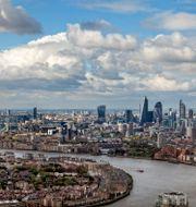 Londons skyline. Nina Eirin Rangøy / TT NYHETSBYRÅN