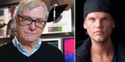 """Klas Bergling och hans son Tim """"Avicii"""" Bergling. TT"""