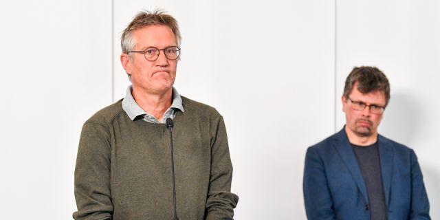 Anders Tegnell.  Anders Wiklund/TT / TT NYHETSBYRÅN