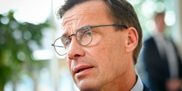 Ulf Kristersson, Moderaternas partiledare. Henrik Montgomery/TT / TT NYHETSBYRÅN