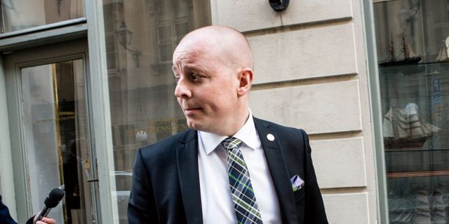 Björn Söder (SD). CHRISTINE OLSSON / TT / TT NYHETSBYRÅN