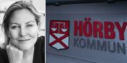 Kommunstyrelsens ordförande Cecilia Bladh in Zito (SD) i Hörby. Privat/TT