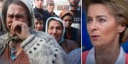 Kvinnor i belägrat Srebrenica, två år innan folkmordet/Ursula von der Leyen TT