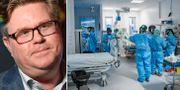 Gunnar Strömmer (M)/Iva på Södertälje sjukhus. TT