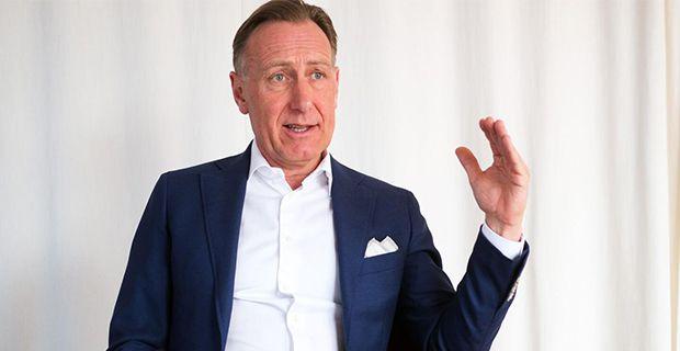 Svenskt Näringslivs vd Jan-Olof Jacke.  Foto: Sören Andersson
