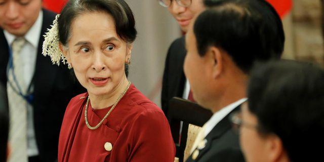 Aung San Suu Kyi KIM KYUNG-HOON / TT NYHETSBYRÅN