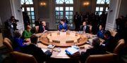 G7-ledarna under mötet i Kanada Sean Kilpatrick / TT / NTB Scanpix