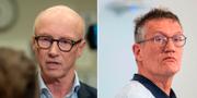 Per Follin, smittskyddsläkare i region Stockholm / Statsepidemiolog Anders Tegnell TT