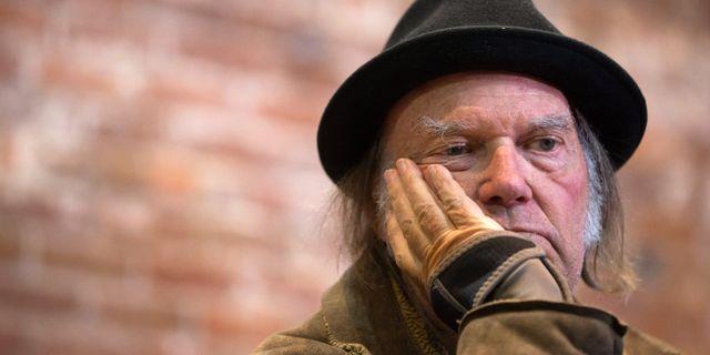 Neil Young. DARRYL DYCK / TT NYHETSBYRÅN