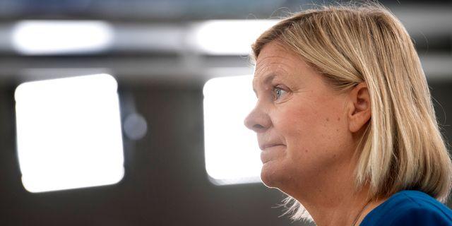 Magdalena Andersson, arkivbild. Jessica Gow/TT / TT NYHETSBYRÅN