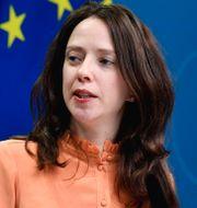 Arkivbild: Finansmarknadsminister Åsa Lindhagen (MP).  Jessica Gow/TT / TT NYHETSBYRÅN