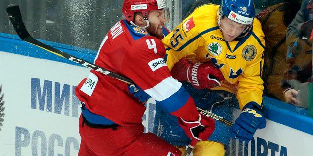 Vladislav Gavrikov och Oscar Möller Ivan Sekretarev / TT / NTB Scanpix