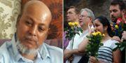 Makram Ali/Sörjande vid platsen för attacken i London.