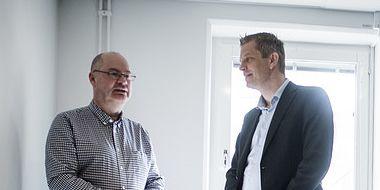 Martin Lardén, chef för Kriminalvårdens behandlingsprogram, till vänster. TT