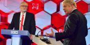 Corbyn och Johnson. Jeff Overs / TT NYHETSBYRÅN