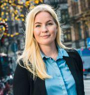 Johanna Englundh, sparekonom Fondbolagens förening.  Fondbolaget/TT