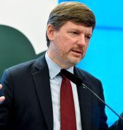 Martin Ådahl. Henrik Montgomery/TT / TT NYHETSBYRÅN