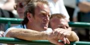 Peter McNamara under Wimbledon år 2002. ARNE FORSELL / BILDBYRÅN