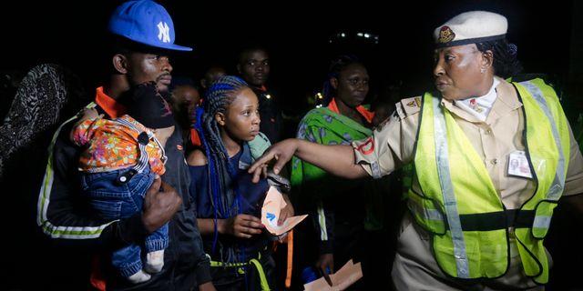 Migranter återvänder hem till Nigera. Sunday Alamba / TT / NTB Scanpix