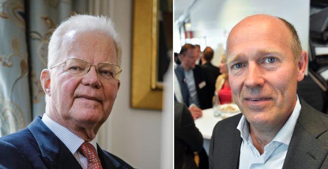 Fredrik Lundberg och Harald Mix  Simon Rehnström/SvD/TT och Tomas Oneborg/SvD/TT