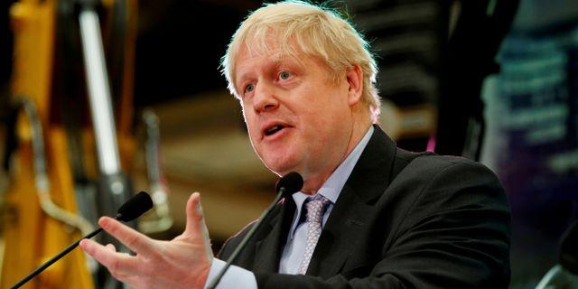 Boris Johnson. Andrew Yates / TT NYHETSBYRÅN