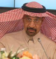 Saudis energiminister Khalid Al-Falih Ronald Zak / TT / NTB Scanpix