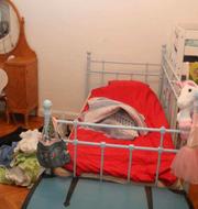 Rummet hemma hos föräldrarna där Esmeralda hittades död. Polisens förundersökning