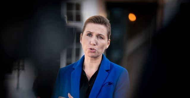 Mette Frederiksen. Liselotte Sabroe / TT NYHETSBYRÅN