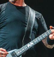 Metallicas sångare James Hetfield Junge, Heiko / TT NYHETSBYRÅN