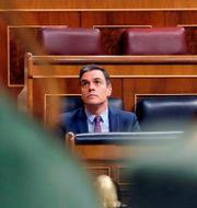 Spaniens premiärminister Pedro Sánchez. POOL / TT NYHETSBYRÅN