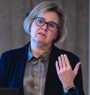 Åklagaren Krister Petersson och riksåklagaren Petra Lundh. TT
