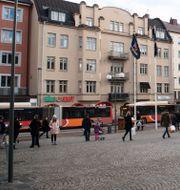 Trädgårdstorget Linköping. Fredrik Sandberg/TT / TT NYHETSBYRÅN