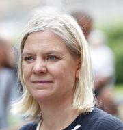Finansminister Magdalena Andersson Christine Olsson/TT / TT NYHETSBYRÅN