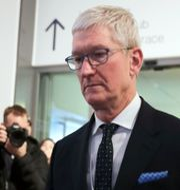 Apples vd Tim Cook. Markus Schreiber / TT NYHETSBYRÅN